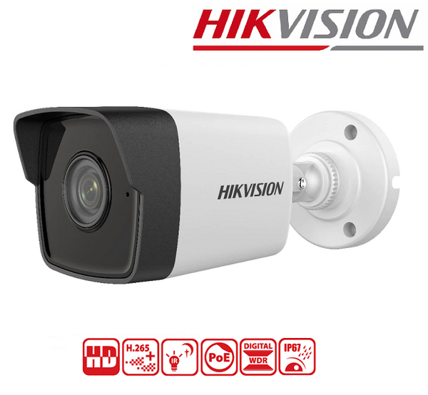 IPC HIKVISION 2MP, 4mm, IR30M DS-2CD1023G0E-I
