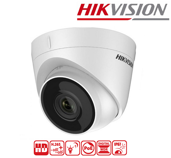 IPC HIKVISION 4MP, 2.8 mm, IR 30M DS-2CD1343G0-I
