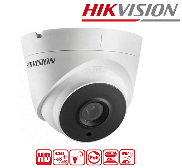 IPC HIKVISION 4MP, 2.8 mm, IR 30M DS-2CD1343G0E-I