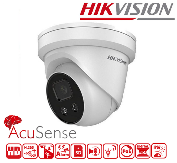 IPC HIKVISION 8MP, 2.8mm, IR 30M DS-2CD2386G2-I(U) - 4К Ultra-HD