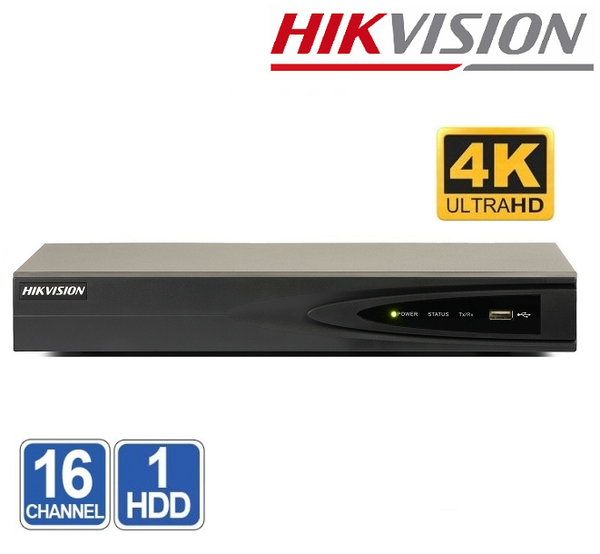 NVR 16 CHANEL HIKVISION DS-7616NI-Q1 8MP