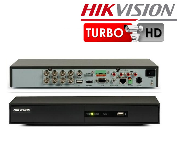 DVR 8 CHANEL HIKVISION DS-7208HVI-SV 960H