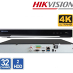 NVR 32 CHANEL HIKVISION DS-7632NI-K2 8MP