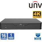 NVR 16 CHANEL UNIVIEW NVR301-16E 4K 8MP