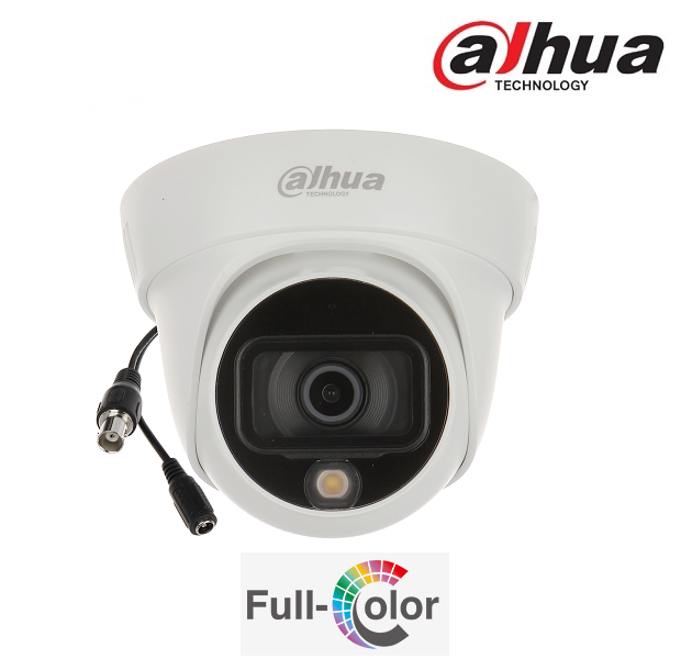 HDCVI 2Mpx (1080p Full HD) HAC-HDW1239TLA-LED-0280B - 2.8mm, IR20m