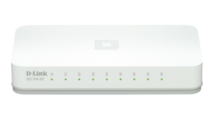 D-Link  8-Port 10/100M Switch